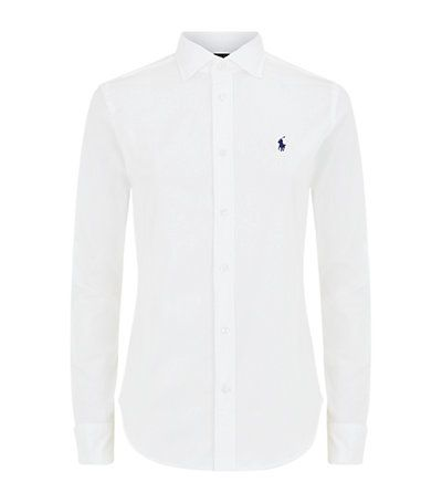 Polo Ralph Lauren women's Kendall Shirt in White available to buy at Harrods. Shop Polo Ralph Lauren online & earn reward points. Free Returns on UK orders.