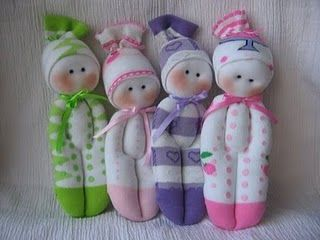 Adorable sock doll tutorial