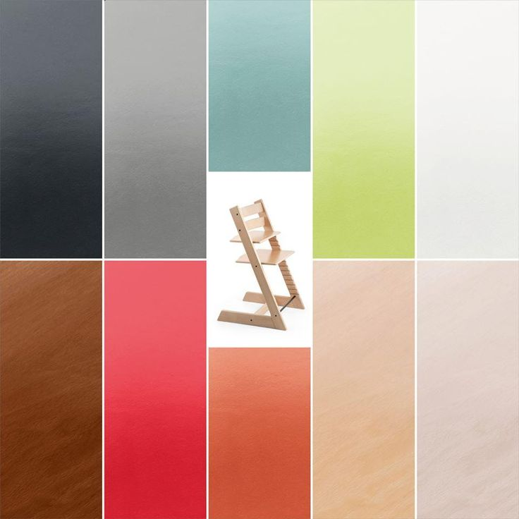 A Rainbow Of Stokke Tripp Trapp Chair Colors Suits Any Interior