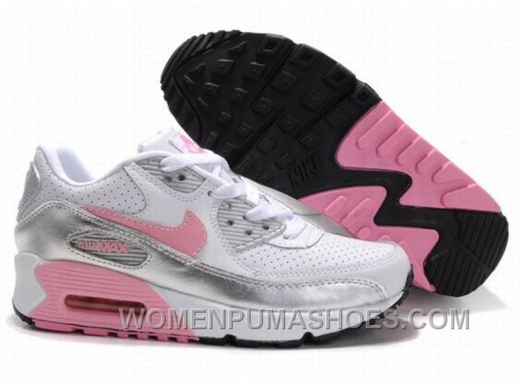 http://www.womenpumashoes.com/nike-air-max-90-womens-silver-grey-pink-white-top-deals-thpsp.html NIKE AIR MAX 90 WOMENS SILVER GREY PINK WHITE TOP DEALS THPSP Only $74.00 , Free Shipping!