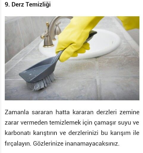 Derz temizligi