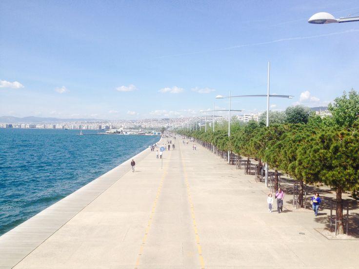 Nea paralia Thessaloniki, Greece