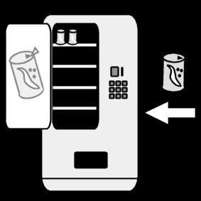 Pictogram Drankautomaat bijvullen