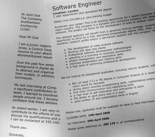 types of application letters for a job 9 free cover letter templates for your next job application template 1:  this  is a unique kind of cover letter from princeton university.