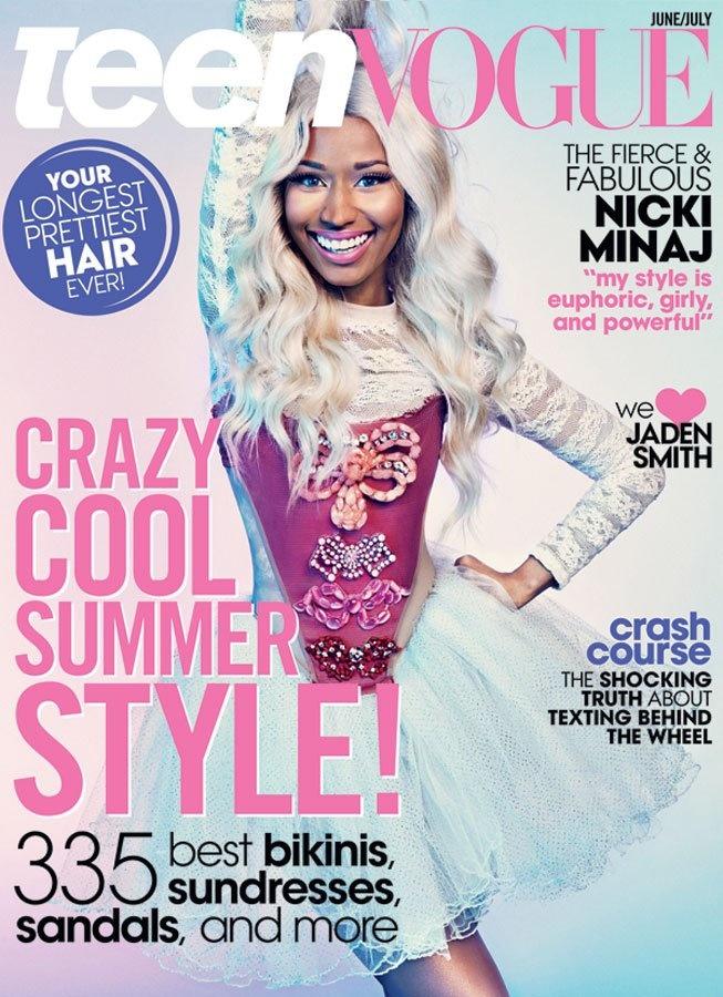 Nicki Minaj June/July 2013