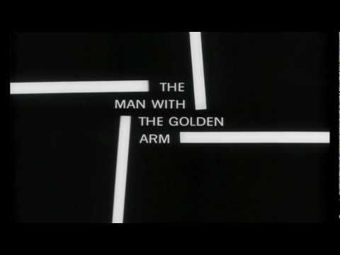 Title Sequence: The Man With the Golden Arm by Saul Bass (1955) // http://www.flavorwire.com/334907/the-most-iconic-film-title-sequences-of-all-time