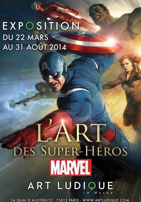 L'art des super-héros, c'est chez Art Ludique-Le Musée à Paris - http://www.ligneclaire.info/exposition-marvel-13185.html