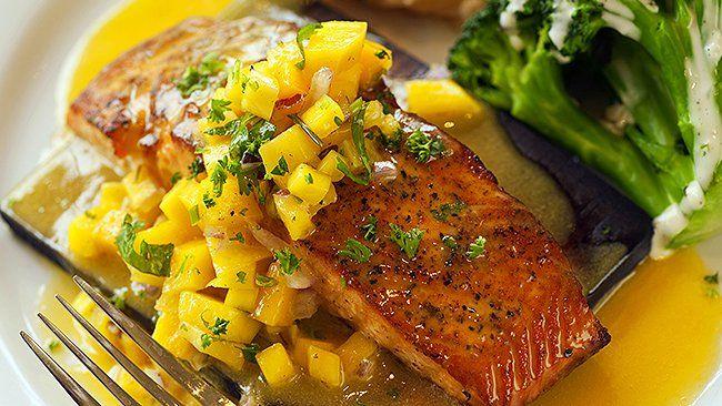 Make Mango Salsa at Home! Yummy Bariatric Food.