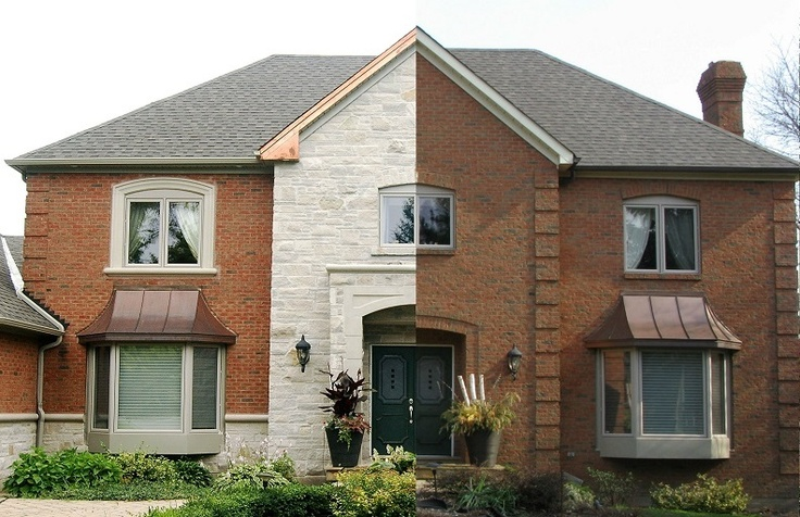 Natural stone was applied for texture and beauty!