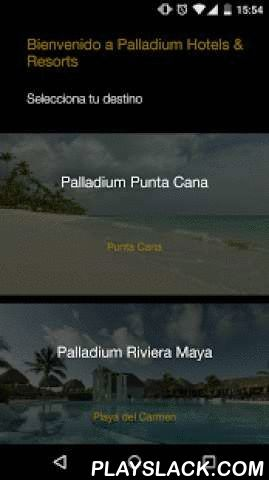 Palladium Hotels & Resorts  Android App - playslack.com , Explore the world with us! Plan your trip ahead and enhance your Palladium experience while staying at our properties in Punta Cana, Riviera Maya, Vallarta, Jamaica, Imbassai Bahia or Ibiza.Everything you need to know about Palladium Hotels & Resorts: Sports, Spa and Restaurant Reservations, Interactive Maps, Internal and External Activities Guide, tourist info and much more!!!