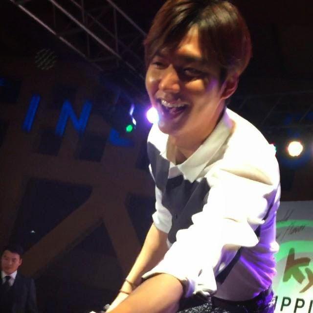 Lee Min Ho - Kyochon Chicken Grand Opening Fun Meet Event Manila, Philippines - 24.02.2015
