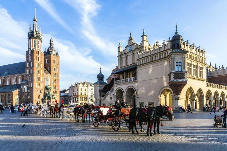 De mooiste plekken op aarde (deel 2): Het historische centrum van Krakau, Polen