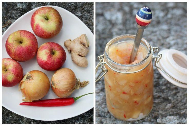 Applechutney with chilli