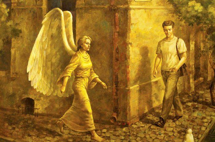 Существует легенда, согласно которой к каждому из нас раз в жизни приходит Бог...