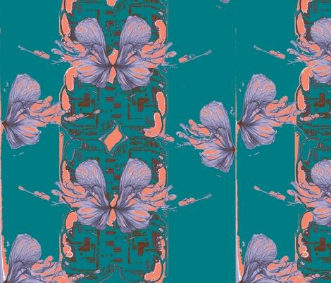 Floral pop fabric by babido on Spoonflower - custom fabric