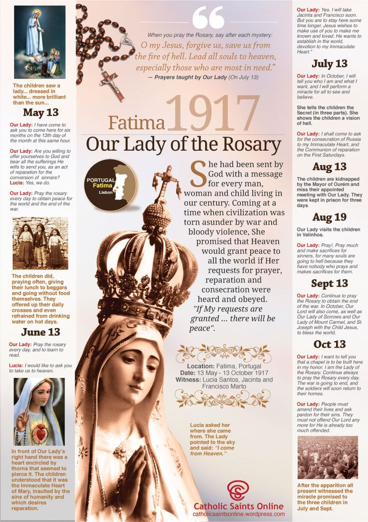 Our Lady of Fatima, pray for us! https://catholicsaintsonline.wordpress.com/2015/06/06/our-lady-of-fatima/ #Catholic #OurLadyofFatima #prayforus #MotherMary #Pray #Rosary