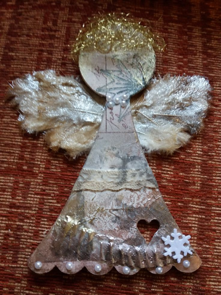 Mirka Filipová - andělíček pro vnučku na okno