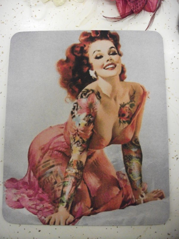 35 Naughty and Sexy Pin up Girl Tattoos - Tattoo Easily