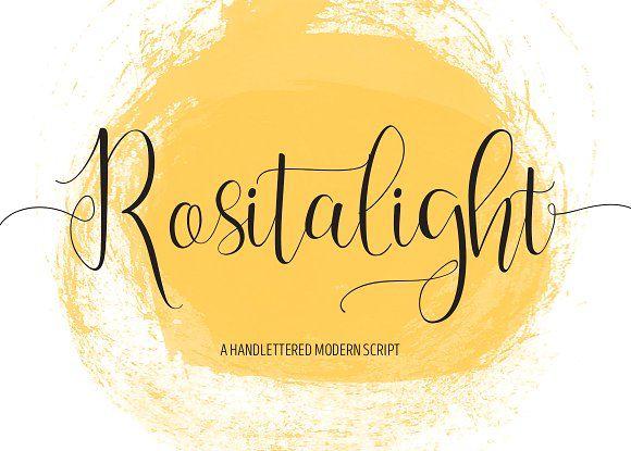 Rositalight Script by Masketer on @creativemarket