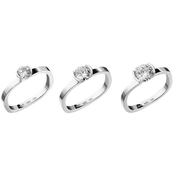 Personnes notables Prix bague solitaire flore dinh van | Cool costume jewelry for you MR99
