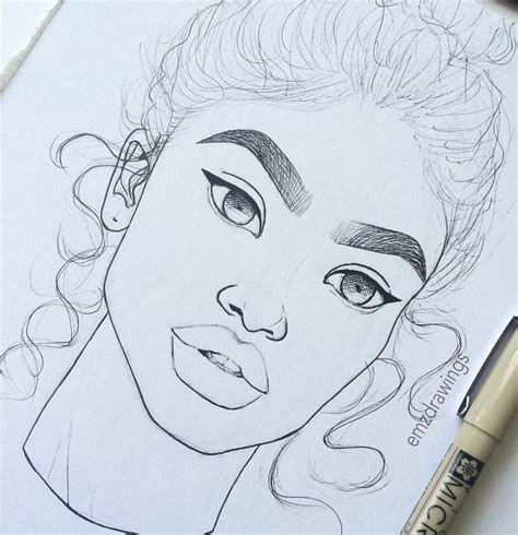 drawings drawing dope instagram emzdrawings draw sketches simple summer realistic girly easy cartoon emilia sketch pencil google emo likes 5k