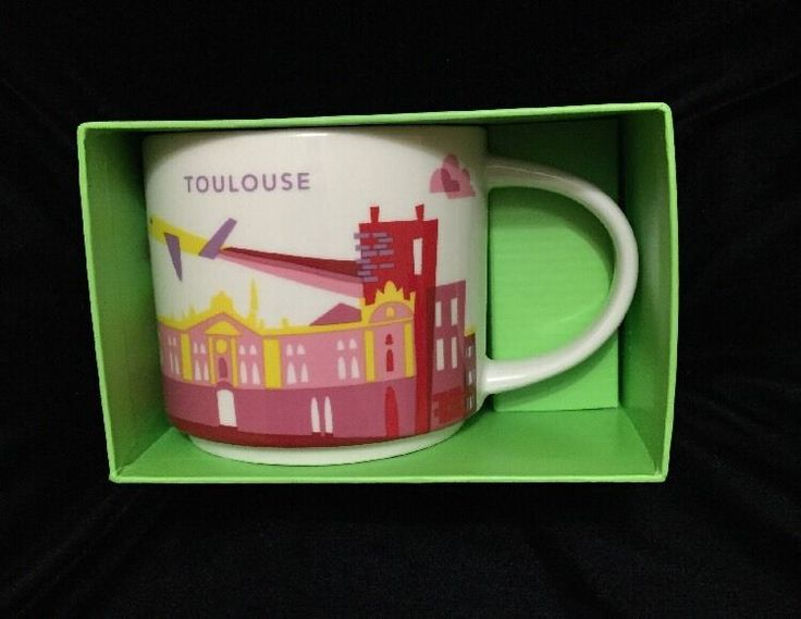 Starbucks Toulouse Mug YAH Airbus Plane Space Coffee Cup You Are Here France New #Starbucks