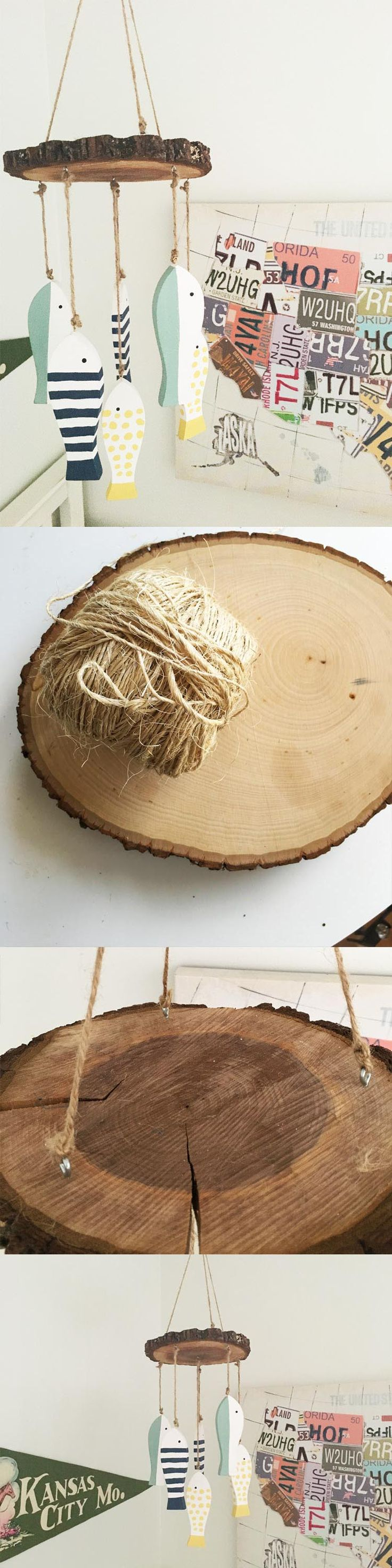 Saplings katie crib for sale - All You Need Is A Wood Slice And A Few Other Materials To Make An Adorable