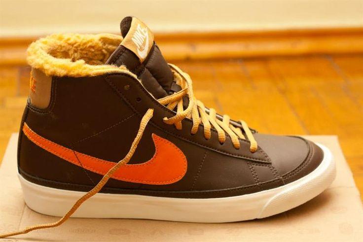 Зимняя женская обувь nike