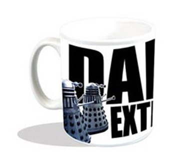Dalek Exterminate -  taza ceramica  - doctor who #DoctorWho #DrWho 9,95€