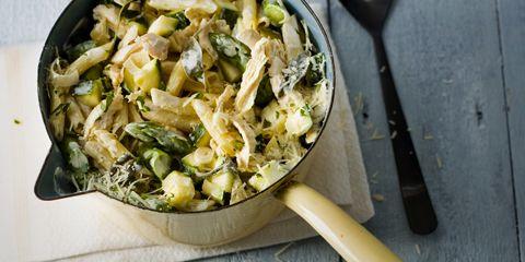 Pasta risottata. Dat is pasta die bereid wordt als een risotto. Het resultaat is een zachte pasta met toch een perfecte bite en intens van smaak!