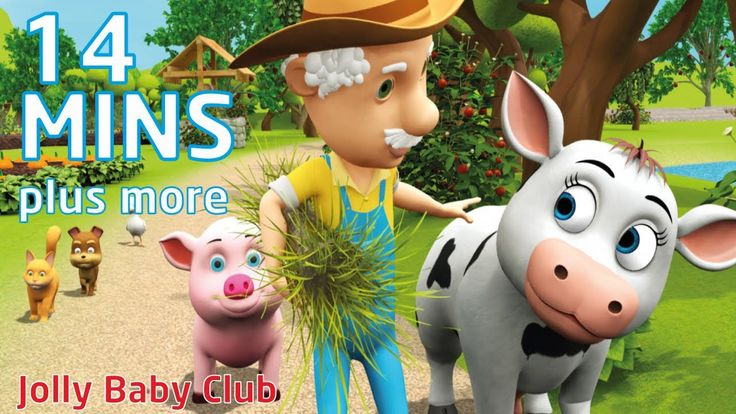 Old Macdonald Had A Farm | Plus More Songs For Kids | Nursery Rhymes fro...
