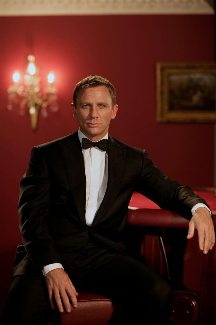 No one pulls off a bow tie quite like Daniel Craig as James Bond