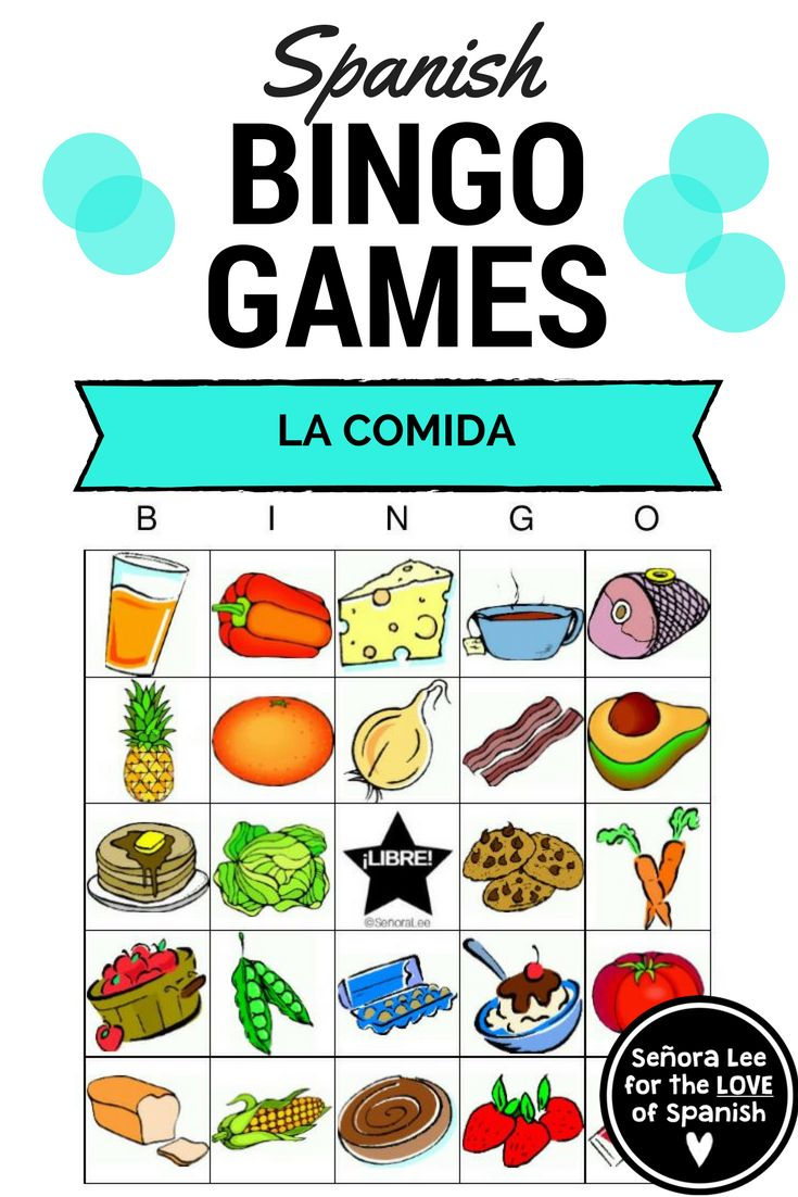 Spanish Food Activities | La Comida  Vocabulary - Learn the names of 25 foods in Spanish while describing each food in full sentences. Excellent listening comprehension activity! #spanishfoodunit #lacomidaspanish
