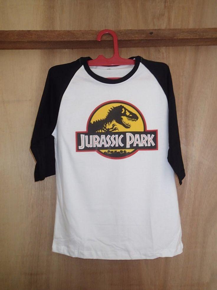jurassic park tshirt raglan baseball nick robinson shirt tshirt clothing unisex #unbranded #raglanbaseball