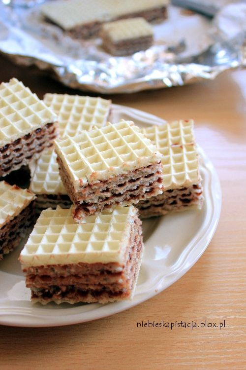 Chocolate Wafer Layers | Wafle Czekoladowe (in Polish)