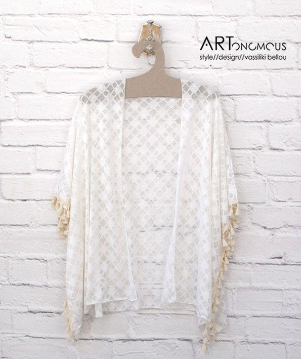 Kimono with tassels / artonomous.gr