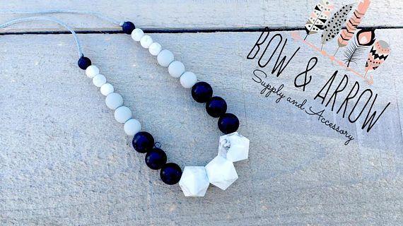 Teething Necklace/ Teething Beads/ Nursing Necklace/ silicone