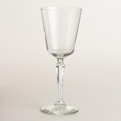 One of my favorite discoveries at WorldMarket.com: Speakeasy Wine Glasses, Set of 4