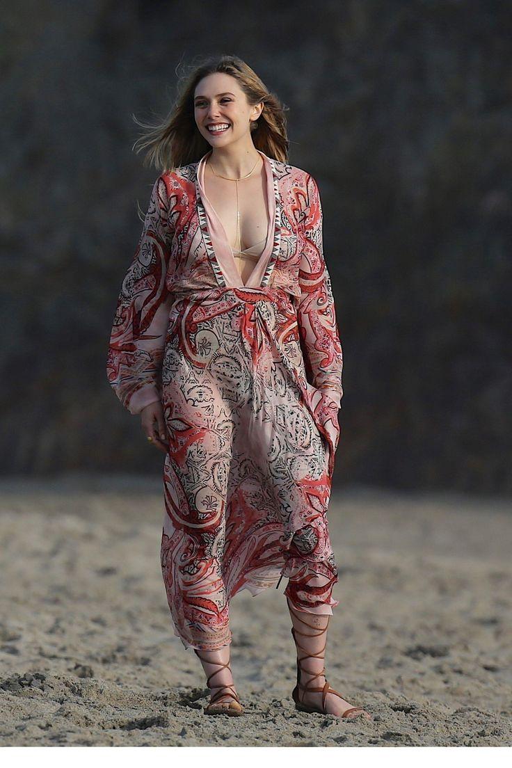 All-natural Elizabeth Olsen