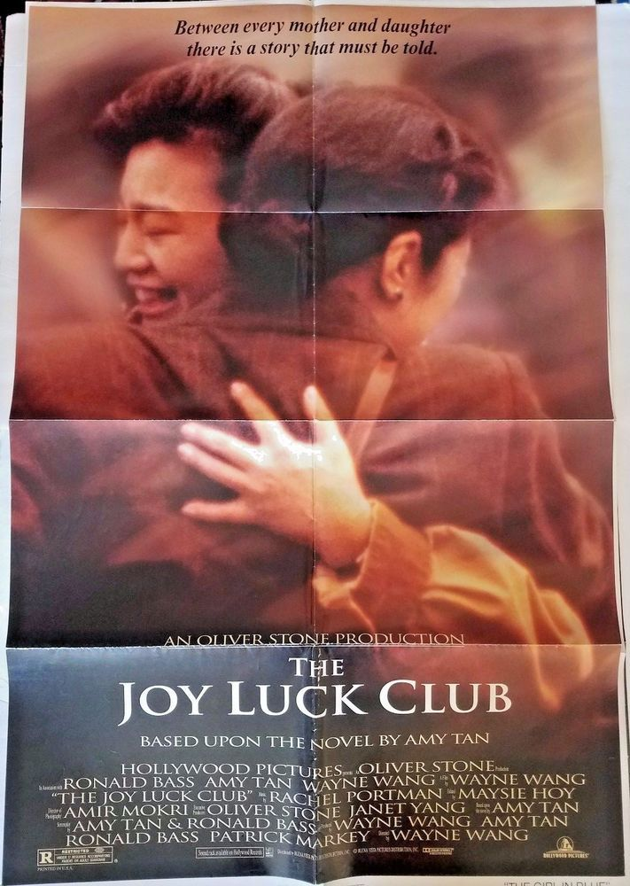 best movie posters images film posters cops and details about the joy luck club movie poster folded 40 x27