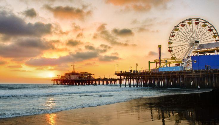 Santa Monica | California Sunset, Santa Monica Pier