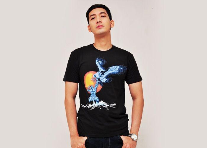 """Bimasena"" design by macuz susanto.  Size: S, M, L, 3XL  $15"