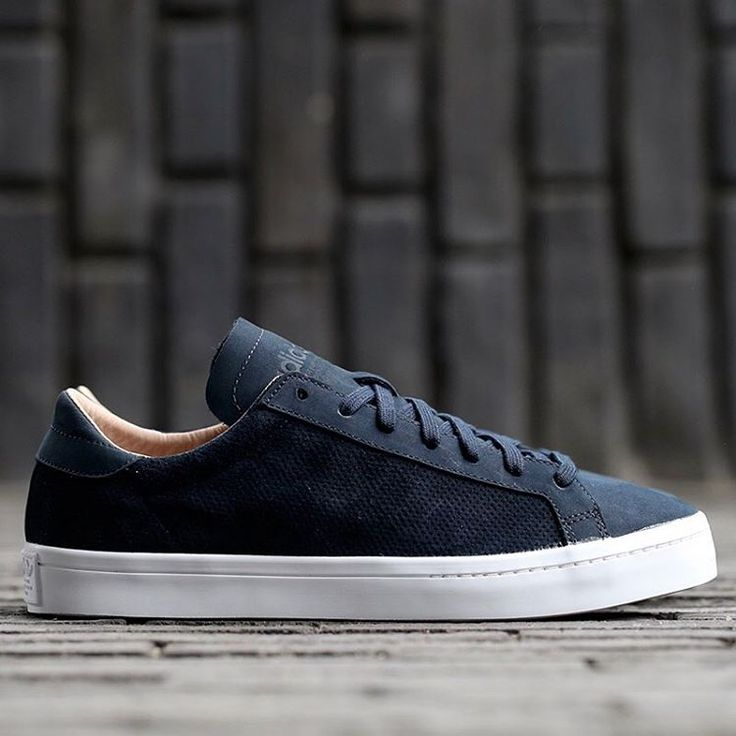 adidas Originals Court Vantage: Navy http://www.95gallery.com/