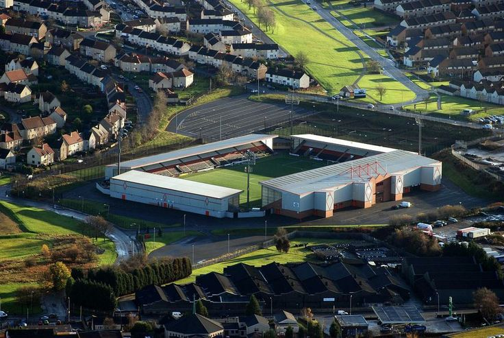 AIRDRIE - EXCELSIOR  STADIUM    home airdrie united fc