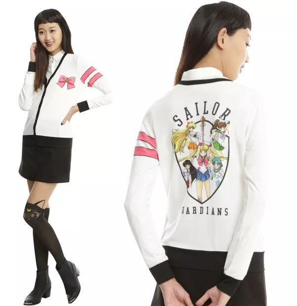 This 'Sailor Moon' Cardigan Has All Of The Guardians