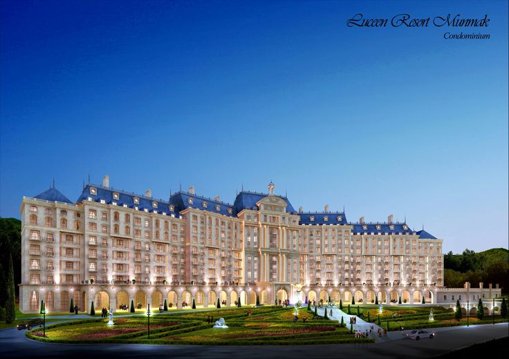 "Condominium Type-2 (Baroque Style), ""DAEMYUNG LUCEEN RESORT : Culture Theme Resort CG Perspective View / ""대명 루첸 리조트"" 콘도미니엄 타입2. 투시도"