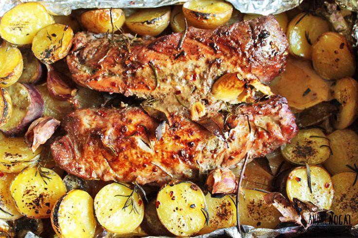 Almoço de domingo: filé mignon suíno - Cozinha sem segredo, por Andre Nogal