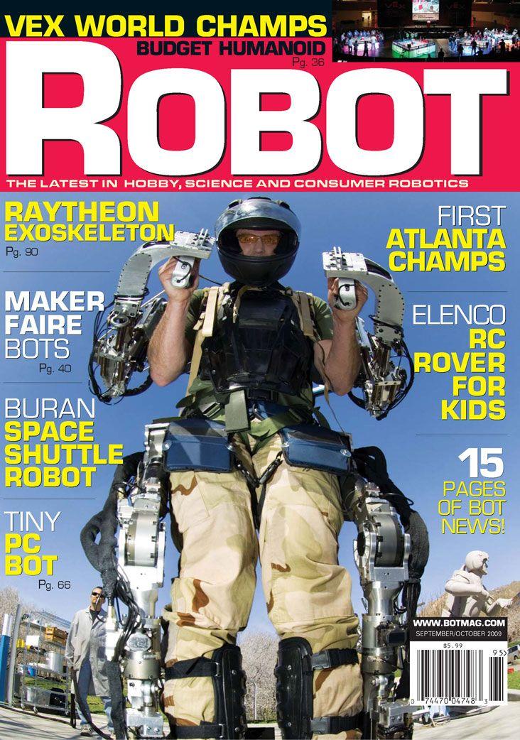 Robot Magazine Subscription