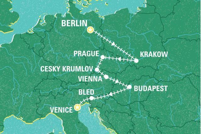 Berlin to Venice by Rail | Czech Republic tours | Geckos Adventures GB