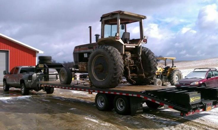 Kaufman's Deluxe Equipment Gooseneck Trailer line is available in 15,000 and 17,000 GVWR's. http://www.kaufmantrailers.com/gooseneck-trailers/equipment-gooseneck-trailer/